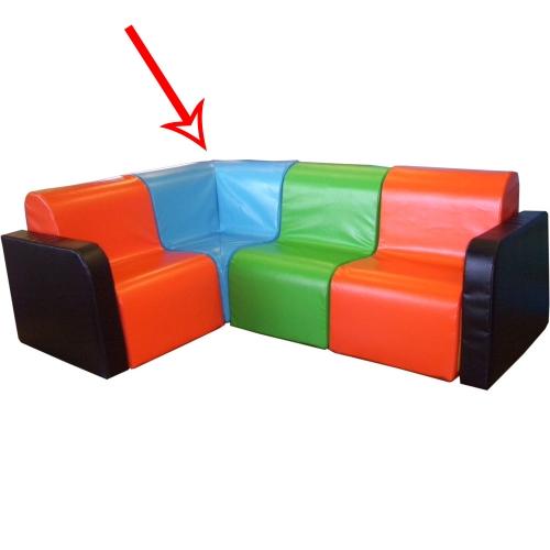 Soft Play Kids Modular Corner Chair