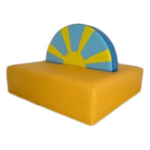 Soft Play Nursery Sunshine Sofa