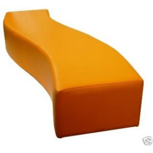 Soft Play S Curved Nursery Bench Seat