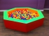Soft Play 7 Sided Giant Ball Pit