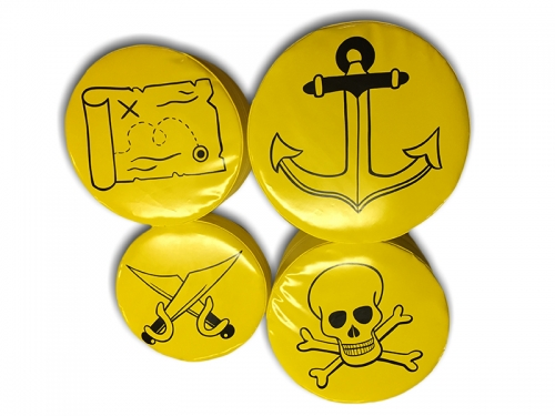 Soft Play Pirate Stepping Stones