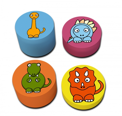 Soft Play Dino Stepping Stones