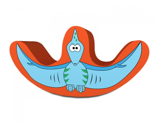 Soft Play Pterodactyl Double Rocker