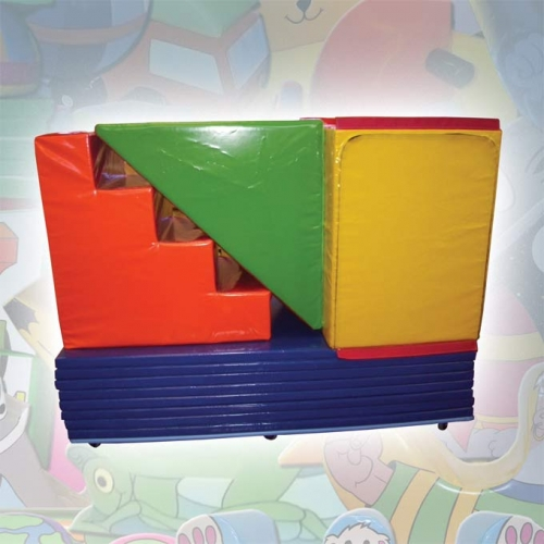 Soft Play, Play Box Set (on trolley & cover)